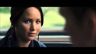 Thg ◄ Catching Fire   Katniss   Peeta On The Train ► Hd