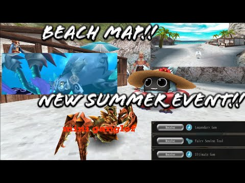 New Summer Event! Dive at Beach Map! Point Exchange to