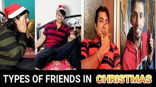 Types Of Friends in Christmas - Bengali Vines l Bongo Burner
