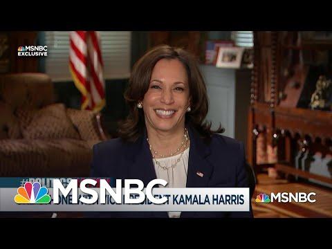Rev. Al Sharpton's Exclusive Interview with Vice President Kamala Harris | MSNBC