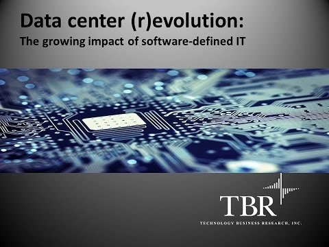 Data center revolution The growing impact of software defined infrastructure