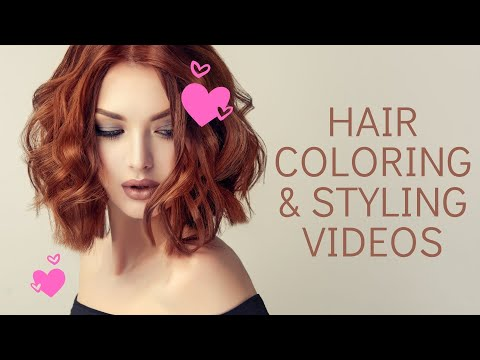 hair-coloring,-styling-videos-before-and-after-tutorial-compilation-|-hair-tutorial-videos-2020