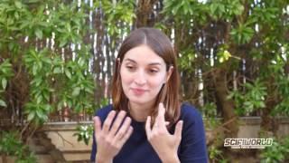 Entrevista a maria valverde durante la edición nº 49 de sitges 2016.