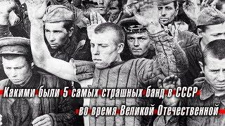 Какими были 5 самых страшных банд в СССР во время Великой Отечественной