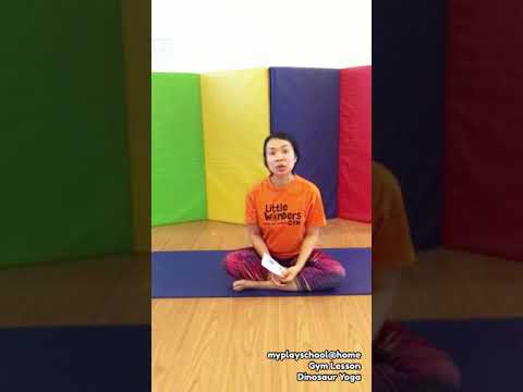 Dino Roar - 1.3 Gym - Dinosaur Yoga