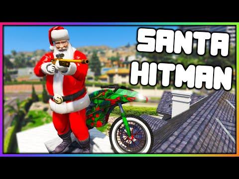 GTA 5 Roleplay - SANTA HITMAN JOB | RedlineRP