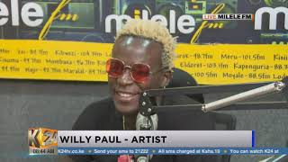 #MileleHangOut: Hanging out with artist Willy Paul