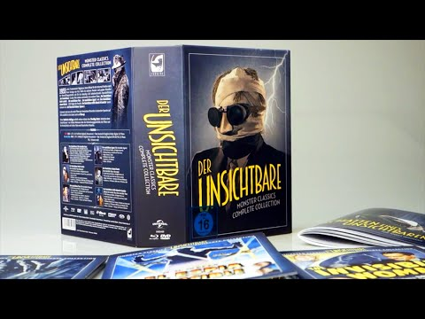 Unboxing: Der Unsichtbare – Limited Deluxe Edition (8 Discs, Blu-ray, DVD)