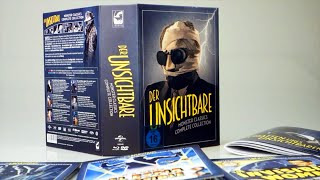 Repeat youtube video Unboxing: Der Unsichtbare – Limited Deluxe Edition (8 Discs, Blu-ray, DVD)