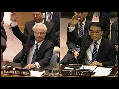 China & Russia have strongly supported Myanmar in UN Security Council.