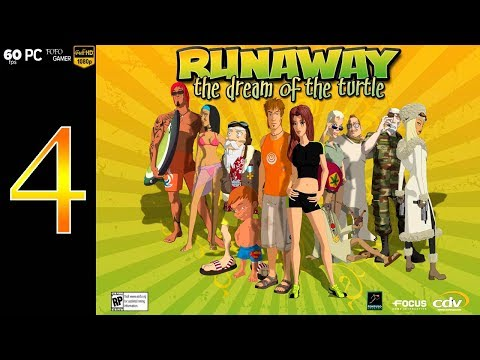 "runaway-2:-the-dream-of-the-turtle-|-español-|-capítulo-4-""los-surferos"""