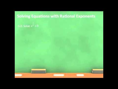 Solving Equations with Exponents – TSI Assessment Preparation