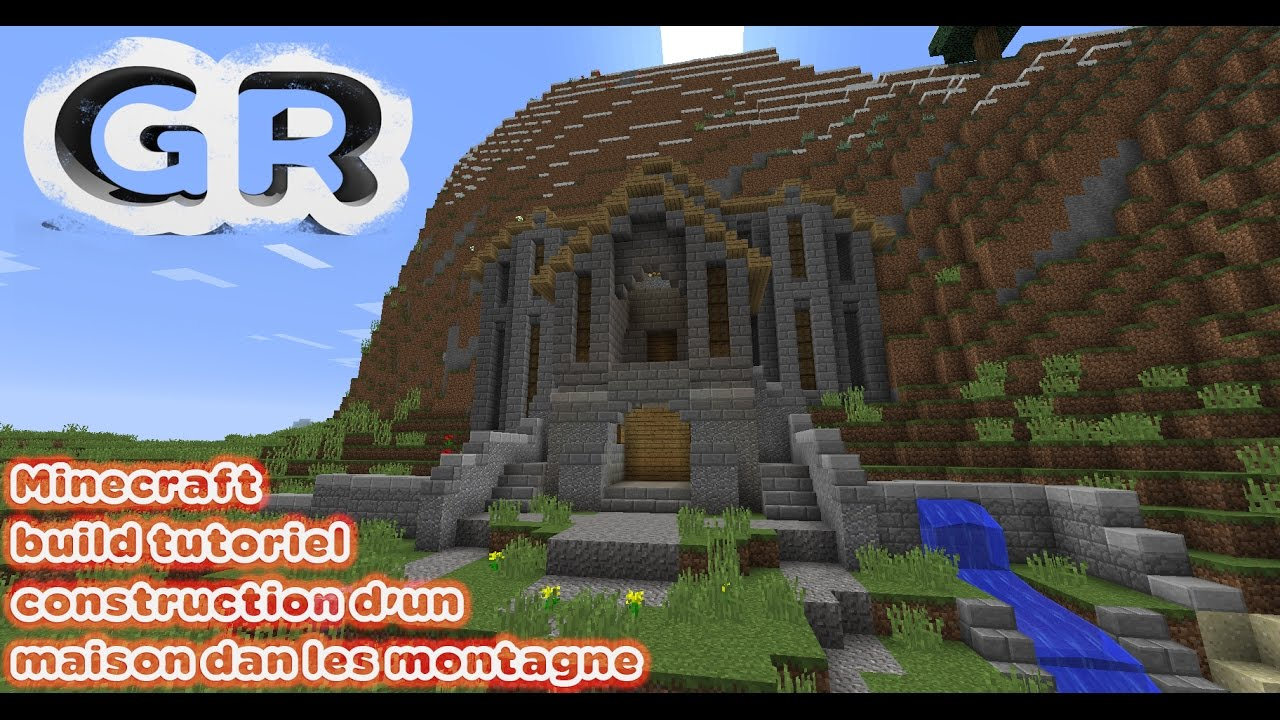 build tutoriel construction d 39 un maison dan les montagne