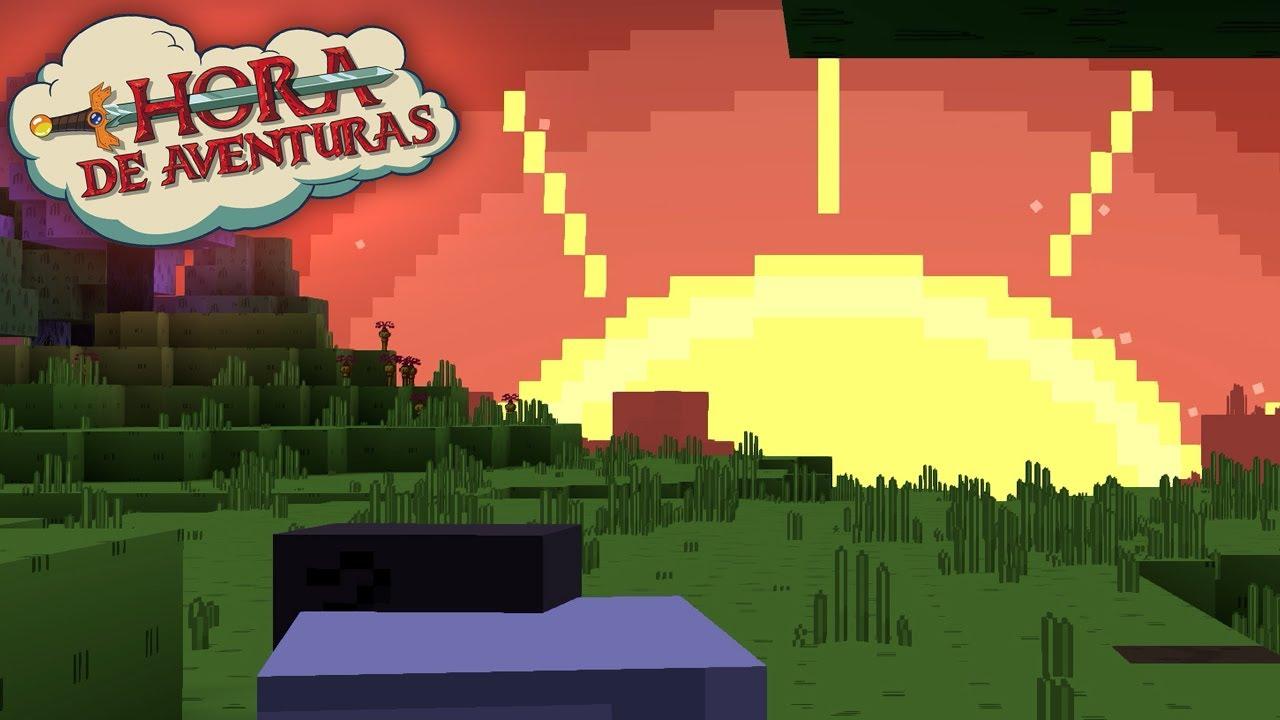 Hora De Aventura Pack De Texturas Para Minecraft 1 16 1 15 Y 1 14 Youtube