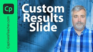 Adobe Captivate 8 - Creating a Custom Quiz Results Page Using Advanced Actions
