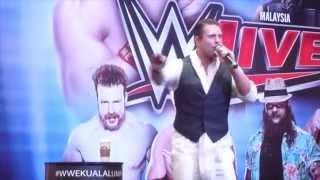 WWE The Miz Entrance @ Malaysia 2014
