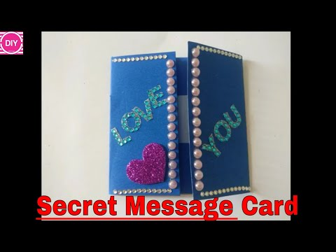 DIY Secret Message Card | Step by Step Tutorial