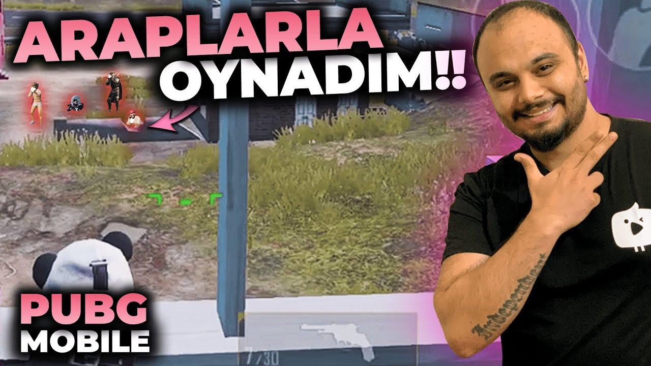 ARAPLAR BENİ ÖLDÜRMEYE ÇALIŞTI / PUBG MOBİLE Gameplay