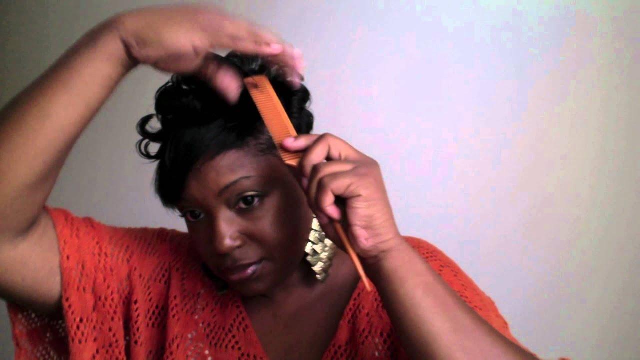 Short Hair Tutorial How To Style My Short Black Hair Black Women