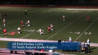 Acton Boxborough Varsity Field Hockey vs North Andover 10/3/15