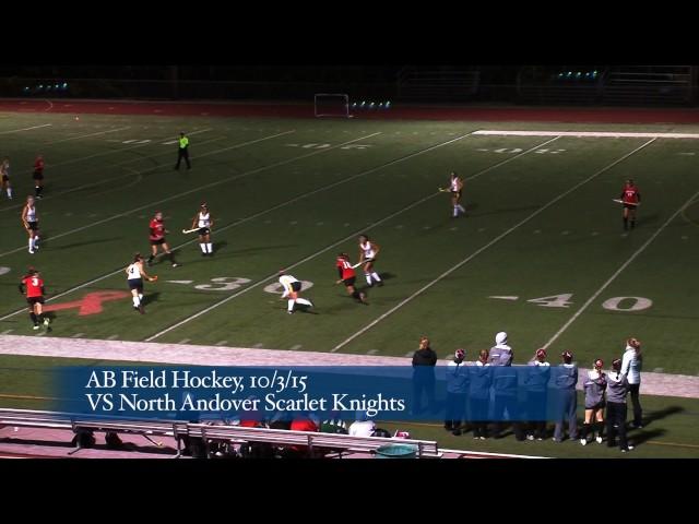 Acton Boxborough Varsity Field Hockey vs North Andover 10/3/15