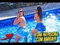 PLAYLIST DE FUNK + DANÇA NA PISCINA COM AMIGA!!!!