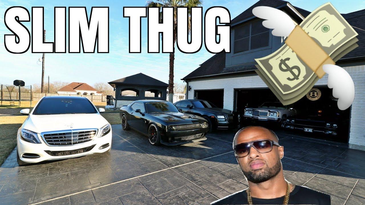 reviewing slim thug u0026 39 s million dollar car collection