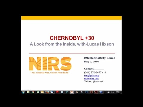 Chernobyl +30--A Look from the Inside, with Lucas Hixson