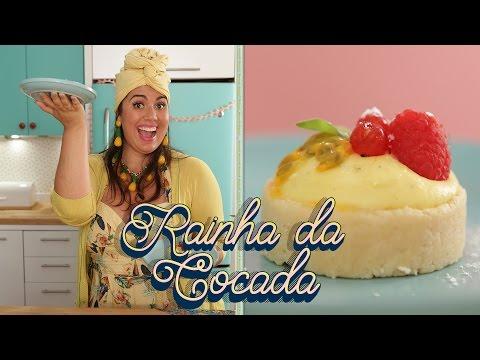 TORTA DE MARACUJÁ COM MASSA DE COCADA | A RECEITA QUE INSPIROU O NOME DO MEU PROGRAMA DE TV