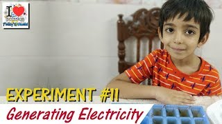 Generating Electricity with Vinegar | Experiment - 11 | Prakhar Trikha | Viral Video