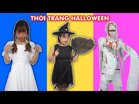 Cuộc Thi Trình Diễn Thời Trang Halloween Bằng Những Món Đồ Có Sẵn Trong Nhà (Halloween Fashion)