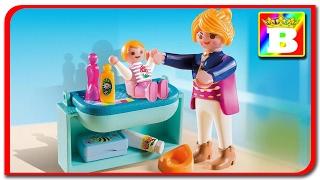 Playmobil Special plus 5368.  Mama si copilul fac baita unboxing si review. Bogdan`s Show