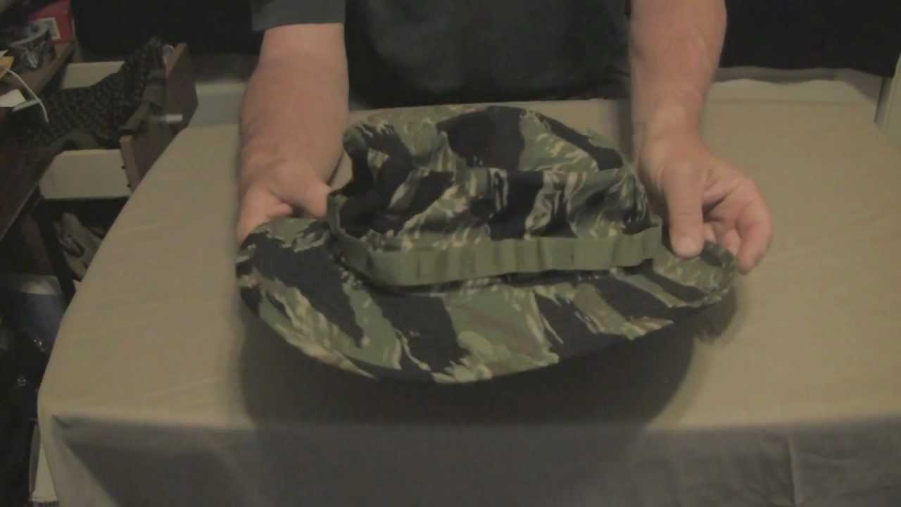 Camo Boonie Hats Worn By The Military Youtube