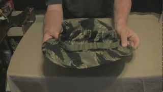 Camo Boonie Hats worn by the Military