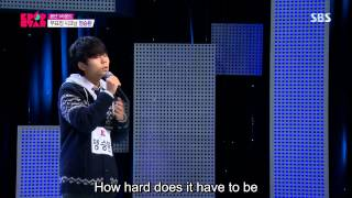Jung Seung-Hwan (정승환) - This Pain Will Pass (지나간다) @ KPOP Star Season 4 [Eng Sub]