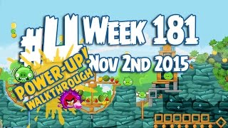 Angry Birds Friends Tournament Level 4 Week 181 Power Up Highscore Walkthrough