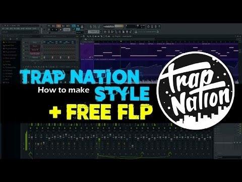 How To Make Trap Nation Style In Fl Studio 12 * TUTORITAL*(FLP)