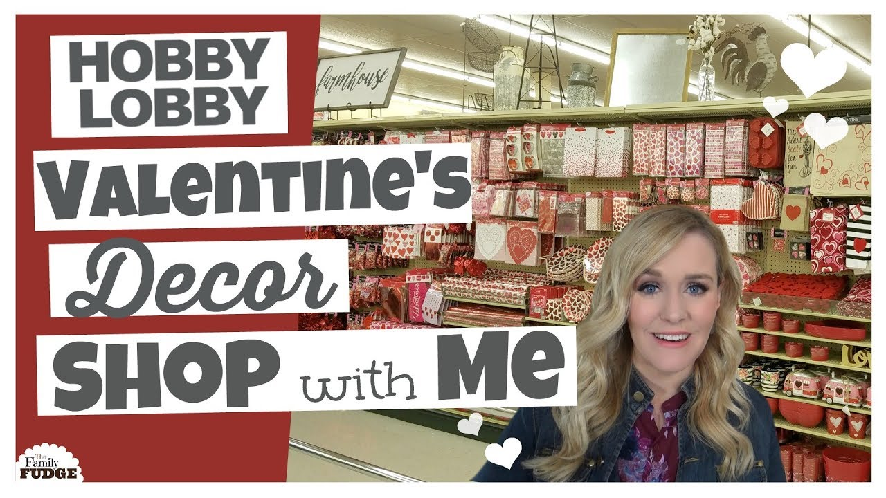 Hobby Lobby SHOP With ME ❤ ALL Valentineu0027s Day Decor + What I Bought!