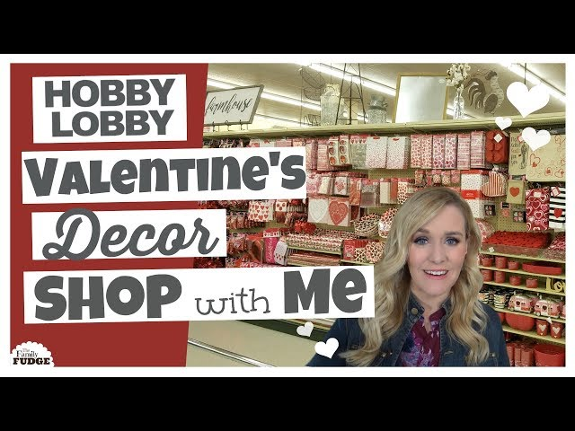 Hobby Lobby SHOP with ME ❤ ALL Valentines Day Decor + What I Bought!