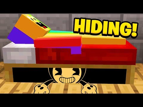 Minecraft  I FOUNDY BENDY HIDING UNDER MY BED! (Ps3/Xbox360/PS4/XboxOne/PE/MCPE)