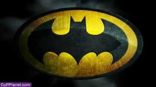 "Batman Cufflinks Black Satin Logo - CuffPlanet ""We Specialize in Cool"" Thumbnail"