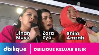 Shila Amzah! Ada surprise Zara Zya dan Jihan Muse!? #ArtisMasukBilik #DBilique (Full video)