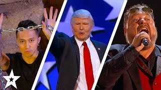 Judges Cuts Part 2 | Demian Aditya, The Singing Trump and MORE!! | America's Got Talent 2017