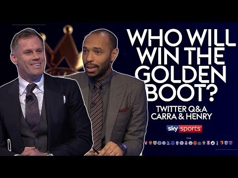 Kane, Aguero or Salah?! Who will win the Golden Boot?   Thierry Henry & Jamie Carragher   MNF Q&A
