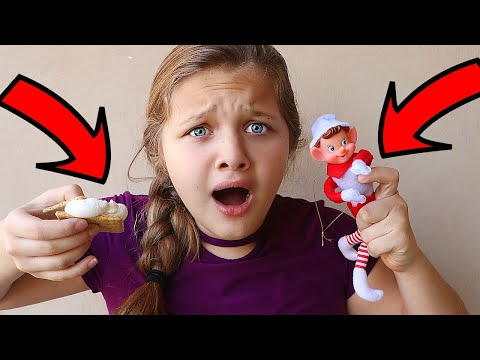 NEW MEAN ELF ON THE SHELF HAS ARRIVED! We Found A New Elf! Mean Elf Is Watching Me!