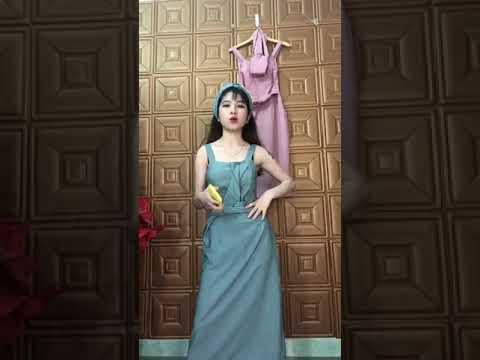 Set Chân Váy Chữ A Kết Hợp Với Áo Thun Sọc Form Cực Chuẩn 5 - Shop Zuna Nhiên ❣ 💃