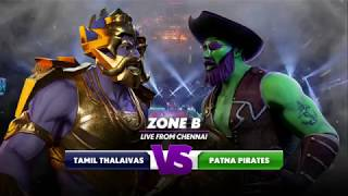 PKL Season 6 Video Highlights: Tamil Thalaivas vs Patna Pirates, 7th October 2018 | Sportskeeda