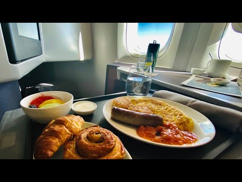 16 Hours In Cathay Pacific's Business Class | New York JFK - Hong Kong | Boeing 777-300ER | REVIEW