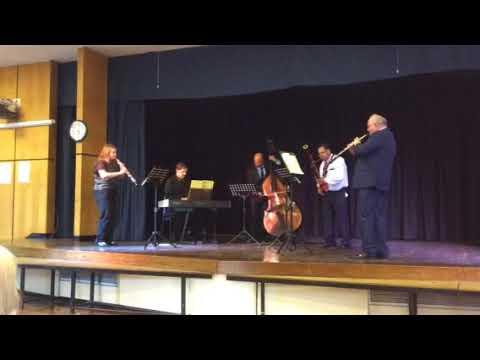 Zelenka sonata no.5 in F. Worleston Music School 1/2