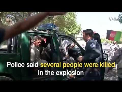 Deadly Truck Bomb Rocks Kabul